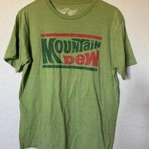 Mountain dew novelty t shirt